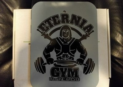 Eternial Gym Metal Sign