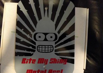 Bender Metal Sign