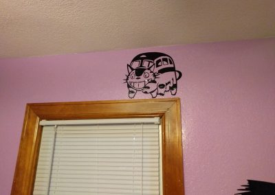 Cat Bus Decal