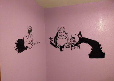 Kiki & Totoro Decal