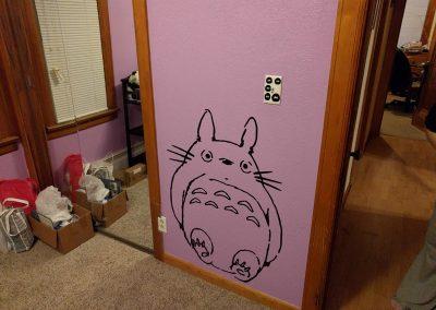 Totoro Decal
