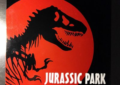 Jurassic Park Metal Sign