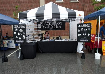 Our Booth At Summer Moon Festival