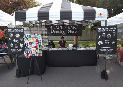 Our Booth At Maumee Summer Fair