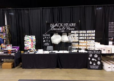 Our Booth at Capital City Con